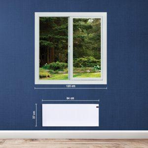 energiatakarékos norvég 1200w fűtőpanel