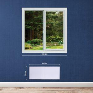 Adax Neo wifi 1000W-os fűtőpanel
