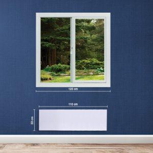 Adax Neo 1400W elektromos norvég fűtőpanel