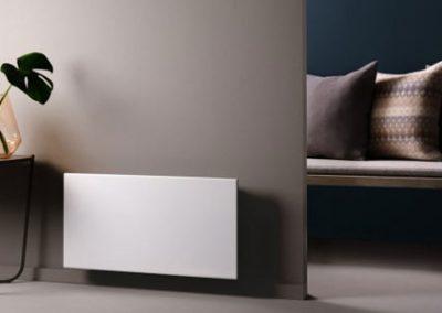 Adax wifi Norvég elektromos Nordart fűtőpanel, mobiltelefon és wifi vezérléssel távolról
